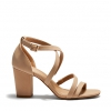 UCCI HEELS IN NUDE
