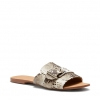 TABARCA FLATS IN NATURAL SNAKE