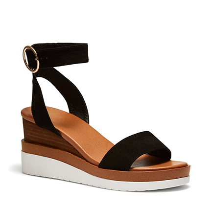 BRYCE WEDGES IN BLACK
