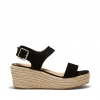 BREEZY WEDGES IN BLACK
