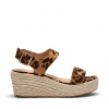 BREEZY WEDGES IN OCELOT