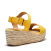 BREEZY WEDGES IN MARIGOLD