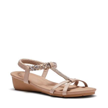EL HIERRO WEDGES IN NUDE