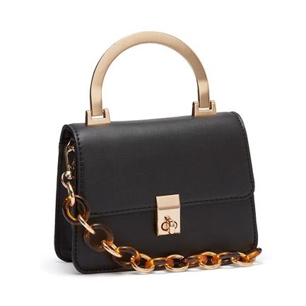 AMINI  BAGS IN BLACK