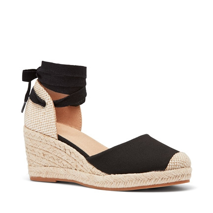 BLESSE  WEDGES IN BLACK