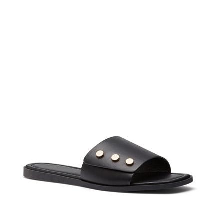 SOLEIL FLATS IN BLACK