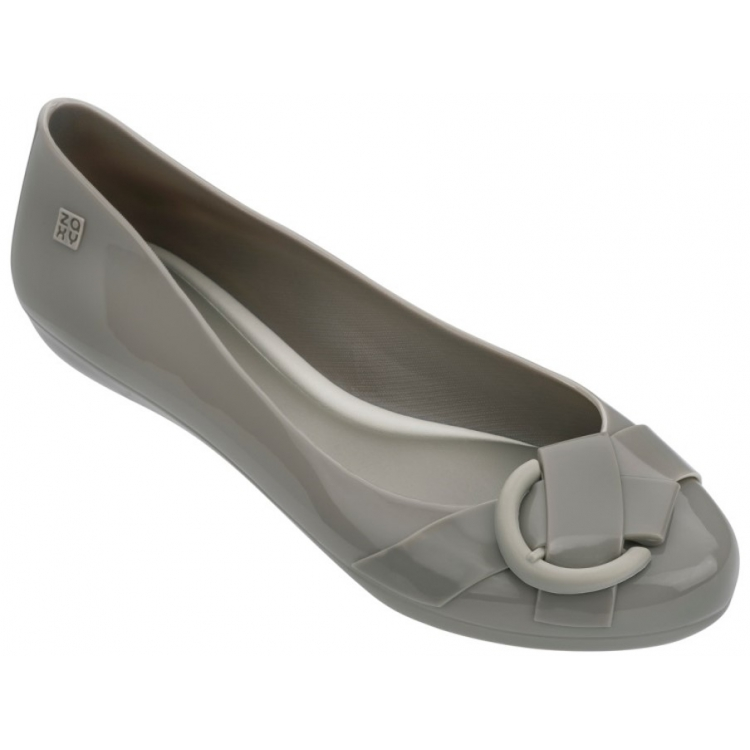 BUCKLE FEM GRENDENE IN GREY