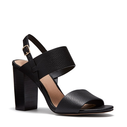 MAINE HEELS IN BLACK