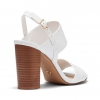 MAINE HEELS IN WHITE
