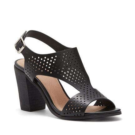 MARLO  SANDALS IN BLACK