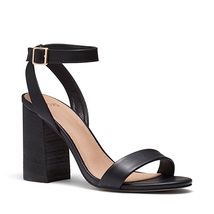 MONTECRISTO HEELS IN BLACK