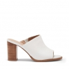 FANCIE PEEP TOE IN WHITE