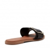 RENE SLIDES IN BLACK