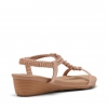 BASIL WEDGES IN NUDE