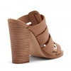 FEEFEE PEEP TOE IN CAMEL
