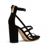 LESHA  SANDALS IN BLACK