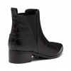 DELICIOUS BOOTS IN BLACK CROC