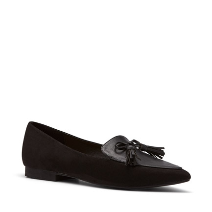 ECO FLATS IN BLACK