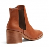 CINDI BOOTS IN DARK CAMEL