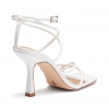 ZIPPY HEELS IN WHITE