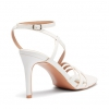 ZAALIA HEELS IN WHITE