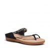ELPROGRESO SANDALS IN BLACK