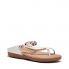 ELPROGRESO SANDALS IN WHITE