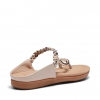 ELPROGRESO SANDALS IN NUDE