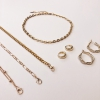 EARRING PUSH OVER  JEWELLERY IN GOLD