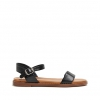 RHODES SANDALS IN BLACK