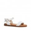 RHODES SANDALS IN WHITE