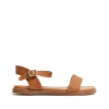 RHODES SANDALS IN TAN