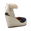BENITO WEDGES IN NAVY