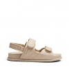 ZANAC SANDALS IN NUDE