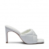 ZALU HEELS IN WHITE