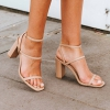 LABELL HEELS IN BUFF