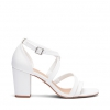 UCCI HEELS IN WHITE