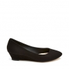 BERLINDA  WEDGES IN BLACK