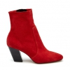NICE  BOOTS IN SCARLET