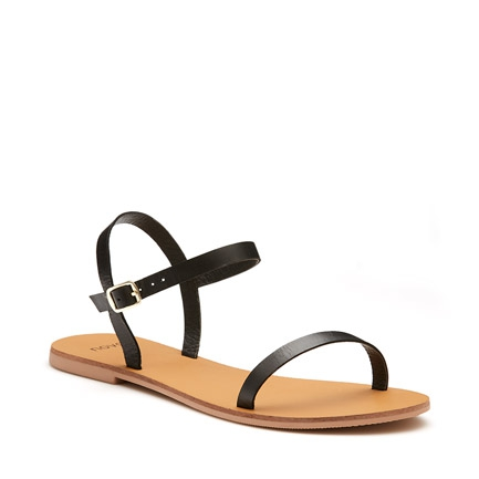 KIMBA  SANDALS IN BLACK