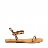 KIMBA  SANDALS IN LEOPARD