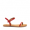 KIMBA  SANDALS IN POPPY