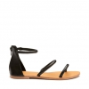 KONCHITA  SANDALS IN BLACK