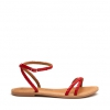 SINDY  SANDALS IN POPPY