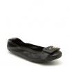 ELICE FLATS IN BLACK PEBBLE