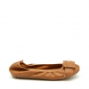 ELICE FLATS IN TAN PEBBLE