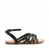 TAWNY  SANDALS IN BLACK