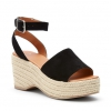 WICKHAM WEDGES IN BLACK