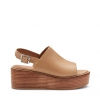 MORA SH  WEDGES IN NUDE
