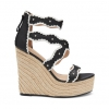 MONICA SH  WEDGES IN BLACK